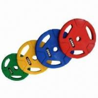 China Alex Style Olympic Plates with Tri-grip Design for True Comfortable Grip for sale
