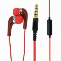 Buy cheap Manufacturing Wired Earphones with 20Hz-20kHz Frequency Response/3.5mm Stereo Plug/10mm Driver, OEM product