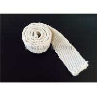 Buy cheap Steel Wire Reinforced Insulation Ceramic Fiber Tape Abrasions Resistance product