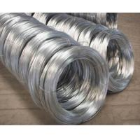 Buy cheap Low price sales all size Hot dipped galvanized steel wire product