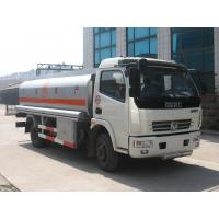 Buy cheap Dongfeng 4*2 6000 liters oil tank fuel tanker trucks for sale product