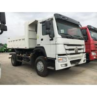 Buy cheap White Professional Heavy Duty Dump Truck 6 Wheeler For Middle Lift System product
