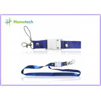Buy cheap Leather Cool Lanyard High Speed USB Flash Drives Suit For Win 8 product