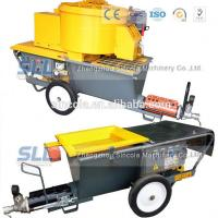 Buy cheap 4m3 / H Mortar Spraying Machine Exterior Wall Plastering Pumping Delivery 30m For Building product