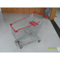 Buy cheap 125L Supermarket Shopping Trolley With 4 Swivel Flat Casters 941x562x1001mm product