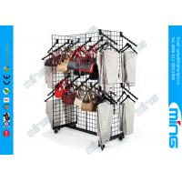 Buy cheap Retail Gridwall Display Racks Gondola Racks With Waterfall Accessories product