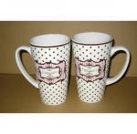 Buy cheap Export 8208 beer ceramic mug custom LOGO coffee mark cup from Wholesalers