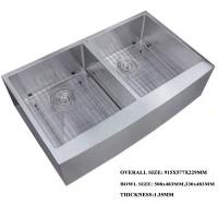 Buy cheap Stainless steel Double Bowl One Piece Kitchen Sink and Countertop sink product