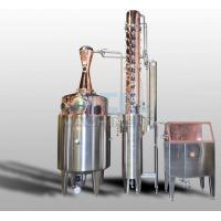 Buy cheap 200L 500L 1000L Red Copper Alcohol Vodka Pot Still Distiller product
