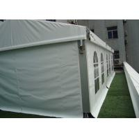 Buy cheap 3 By 18 M Small Outdoor Marquee Party Tent For Wedding , Solid Wall Canopy Tent from Wholesalers