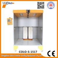 Buy cheap Two Fliters Manual Powder Coating Booth For Car wheel Bike Parts In Stock product