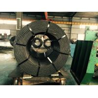 China Hot Rolled PC Steel High Carbon Wire Rod For Airport Hangers 0.5 12.7mm / 0.6 15.24mm on sale