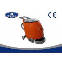 Buy cheap 43cm Width Brush Head Walk Behind Floor Scrubber For Railway Station Large Capacity Tank product