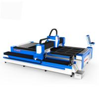 Buy cheap Metal High Power Laser Cutting Machine , Fiber Laser Equipment 0.003mm Accuracy product
