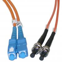 Buy cheap Duplex ST to SC Multimode Fiber Optic Patch Cord for Telecommunication Networks product