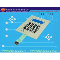 Buy cheap Tactile Keyboard Membrane Switch Panel With Flat Keypad For Telephone Set product