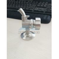 Buy cheap Clamp Sanitary Stainless Steel SS316L Perlick Style Beer Sampling Valve from wholesalers