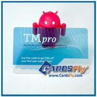 Buy cheap transparent business cards printing product