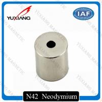 Buy cheap Round Hollow Cylinder Ndfeb Permanent Magnet N52 Diametrically Magnetized product
