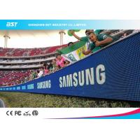 Buy cheap High Performance Soccer Advertising Boards , Perimeter Advertising Led Display product
