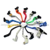 Buy cheap Aluminum Motorcycle Brake Clutch Lever Adjustable Long Shorty Folding Levers product