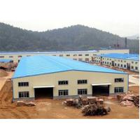 Buy cheap Industrial Steel Construction Prefab Warehouse Building OEM / ODM Available product