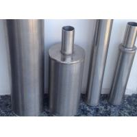 Customized Stainless Steel Wire Wrapped Screen 40 Micron Abrasion - Resistant