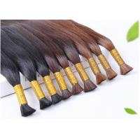 Buy cheap Double Weft Colored Human Hair Extensions Colored Human Hair Weave product