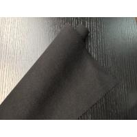 Buy cheap Black Warm Soft Woven Wool Fabric ployster / Wool Upholstery Fabric product