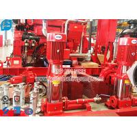 Buy cheap 50Hz Multi Stage Centrifugal Fire Pump Set , Electric Jockey Pump With Control Panel product