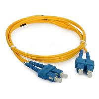 Buy cheap Telecommunication SC Duplex fiber optical patch cord with UPC / APC Polishing product