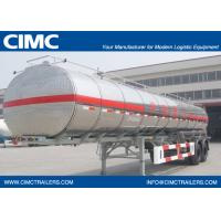 46000L Aluminum Tanker Semi-Trailer with 3 BPW Axles for Heptane	    9463GHYAL