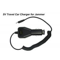 Buy cheap Powerful Signal Jammer Accessories / Travel Car Charger With Output 5V product