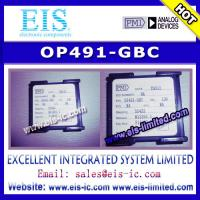 China OP491-GBC - PMI - Micropower Single-Supply Rail-to-Rail Input/Output Op Amps - Email: sale on sale