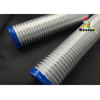 Buy cheap Hydroponic semi rigid aluminum flexible air duct for garden air ventilation product