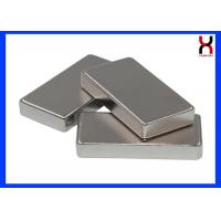 China Customized Size Block Rectangle square Shape Neodymium Magnet with high attraction on sale