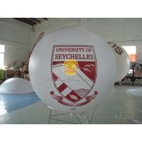 Digital printing business ad helium balloon with 0.18mm PVC for opening event