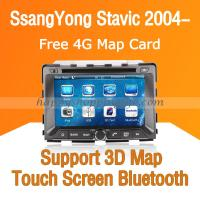 Buy cheap Ssangyong Stavic 2004- Auto Radio DVD GPS Navigation with Digital TV Bluetooth Touch Screen RDS product