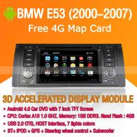 Buy cheap BMW E53 2000-2007 Android Auto Radio DVD Player with GPS Navigation Wifi 3G Digital TV RDS CAN Bus product