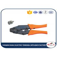 China Ratchet Crimping Tool For Coaxial Connectors / Wire Crimper Tool on sale