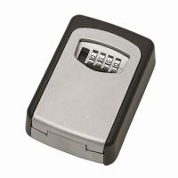 Buy cheap Rotate Wheel Wall Mounted Heavy Duty Key Lock Box For Outside House from Wholesalers