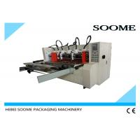 Buy cheap Automatic Slitter Scorer machine For Carton Creasing / Electrical Thin Blade Slitting Machine product