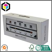 Buy cheap Single Wall B Flute Strong Cardboard Carton Packing Box with Plastic Handle product