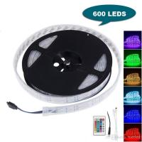 Buy cheap 16FT 5M Double Row SMD 5050 Silicone Tube RGB LED Strip Light 600 LEDs Flexible Waterproof Color Changing Light Strip wi product