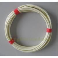 AC DC protection insulating electrical wire sleeve pvc fiberglass sleeving