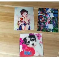 Buy cheap OEM 3D printing factory provide  india 3d lenticular card for sale with strong 3d depth lenticular effect product