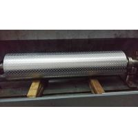 Buy cheap Non - Ferrous Metal / Leatheroid / Leather Embossing Rolls , Knurled Rollers product