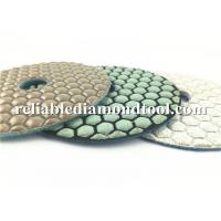 Buy cheap Custom Abrasive Diamond Floor Polishing Pads , Durable Dry Diamond Hand Polishing Pads product