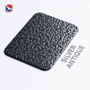 Buy cheap Thermosetting Electrostatic Spray Crackle Epoxy Polyester Powder Coating Metallic Effect product