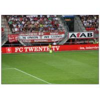 Perimeter Advertising Stadium LED Display , P20 Full colors Large Curved Monitor  Wide View
